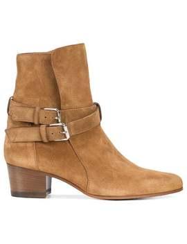 Amiri Buckle Ankle Boots by Amiri