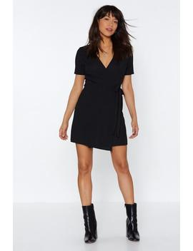 I Love Wrap And Roll Mini Dress by Nasty Gal