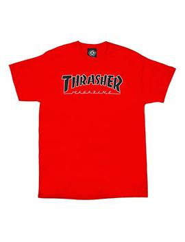 Thrasher Outlined T Shirt by Thrasher