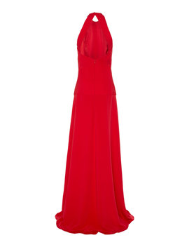 Open Back Crepe Gown by Cushnie