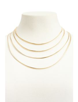 Serpentine Layered Necklace by Forever 21