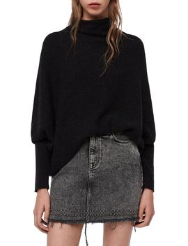 Ridley Funnel Neck Wool & Cashmere Sweater by Allsaints