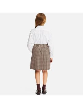 Girls Idlf Corduroy Printed Skirt by Uniqlo