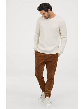Skinny Fit Corduroy Pants by H&M
