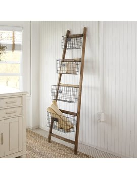Gracie Oaks Vertical Wooden 6 Ft Decorative Ladder & Reviews by Gracie Oaks