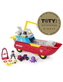 Paw Patrol Sea Patrol   Sea Patroller Transforming Vehicle With Lights And Sounds by Paw Patrol