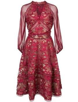 Cocktail Lace Dress by Marchesa Notte
