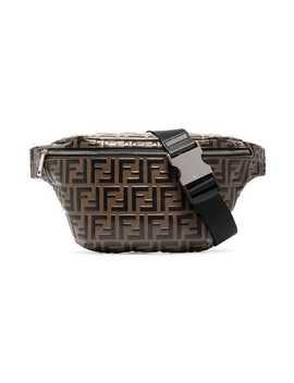 Fendi Logo Embossed Cross Body Bag Home Men Fendi Bags Belt Bags by Fendi