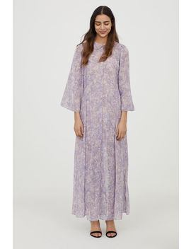 Long Buttoned Dress by H&M