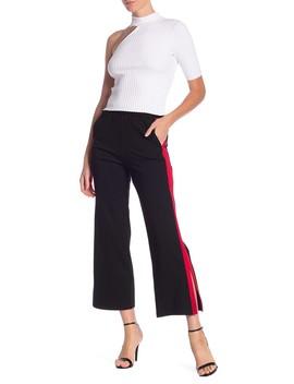 Side Stripe Pants by Haute Rogue