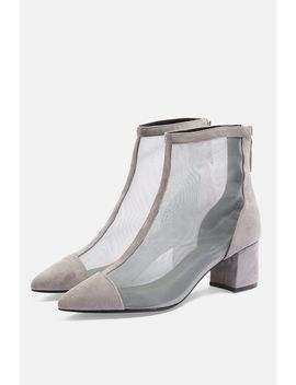 Briony Mesh Boots by Topshop