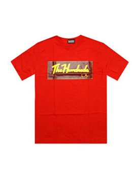 The Hundreds Th Signature Tee (Red) by The Hundreds