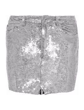 Sequined Jersey Mini Skirt by Iro