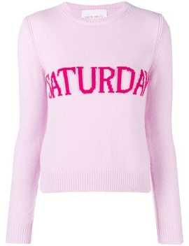Alberta Ferretti Saturday Jumper Home Women Alberta Ferretti Clothing Knitted Sweaters by Alberta Ferretti
