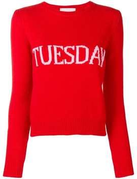 Alberta Ferretti Tuesday Jumper Home Women Alberta Ferretti Clothing Knitted Sweaters by Alberta Ferretti