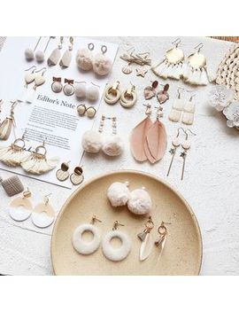 Dollu   Khaki Earring (Various Designs) by Dollu