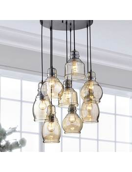 Oliver & James Yinka Antique Glass Cluster Lights by The Lighting Store