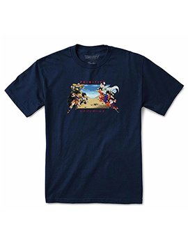 Primitive X Dragon Ball Z Men's Dbz Battle T Shirt Blue by Primitive
