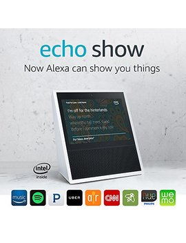 Echo Show   2nd Generation White by Amazon