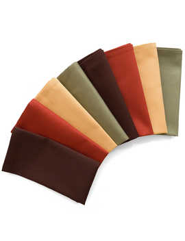 8 Pack Harvest Napkins In Assorted Colors by Bed Bath And Beyond