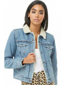 Levis Original Sherpa Trucker Jacket by Forever 21