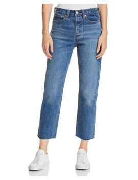Wedgie Crop Straight Jeans In Love Triangle by Levi's