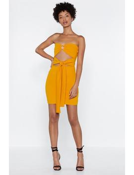 Ring Detail Bodycon Mini Dress by Nasty Gal
