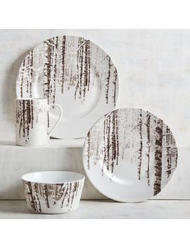 Snow Forest Dinnerware by Pier1 Imports