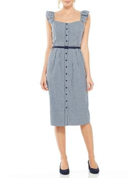 Carly Gingham Sheath Dress by Gal Meets Glam