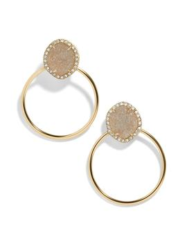 Lutana Hoop Earrings by Baublebar