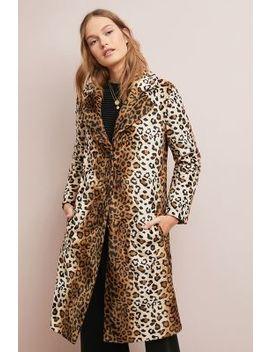 Classic Leopard Coat by Helene Berman London
