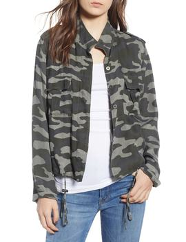 Rowen Camo Military Jacket by Rails