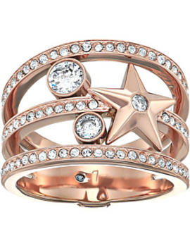 Brilliance Star Banded Ring by Michael Kors