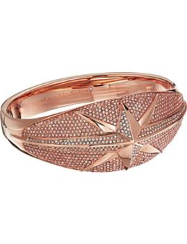 Starburst Pave Hinge Bracelet by Michael Kors