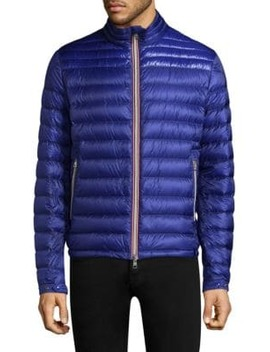 Daniel Quilted Zip Front Jacket by Moncler