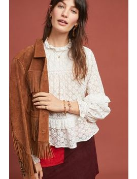 Annabelle Ruffled Blouse by Meadow Rue