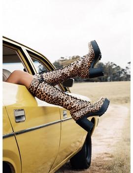 Roc Boots Australia Lash Boots Leopard by Roc Boots Australia