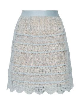 Zimmermann Knee Length Skirt   Skirts by Zimmermann