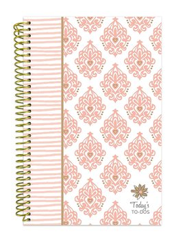 "Bloom Daily Planners Bound To Do List Book   Planning System Tear Off To Do Pads   Undated Daily Planner To Do Pad 6"" X 8.25""   Pink & Gold by Bloom Daily Planners"