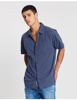 Summer Pique Camp Shirt by Tommy Jeans