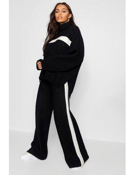Premium Heavy Knitted Sports Athleisure Set by Boohoo