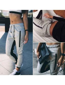 Women Casual Jogger Dance Harem Sport Pants Baggy Slacks Trousers Sweatpants Diy by Unbranded
