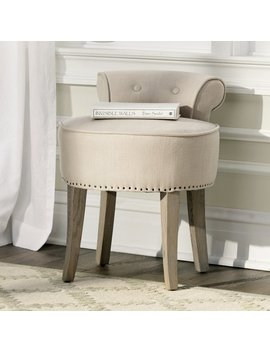 Lark Manor Charly Vanity Stool & Reviews by Lark Manor