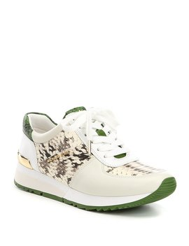Allie Snake Print Trainer Sneakers by Michael Michael Kors
