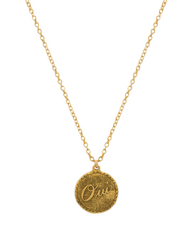 Oui Charm Necklace by Natalie B Jewelry
