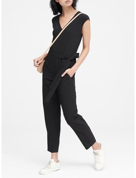 Performance Stretch Jumpsuit by Banana Repbulic