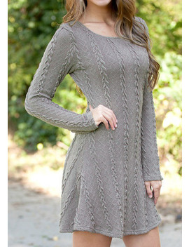 Women Causal Plus Size S 5 Xl Short Sweater Dress Female Autumn Winter White Long Sleeve Loose Knitted Sweaters Dresses by Ragedeor