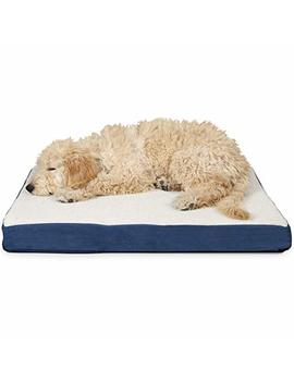 Fur Haven Pet Dog Mattress | Deluxe Orthopedic Sherpa Pet Bed Mattress For Dogs & Cats   Available In 3 Colors & Sizes by Furhaven Pet