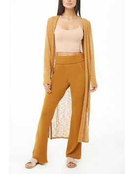 Inside Out Wide Leg Pants by Forever 21