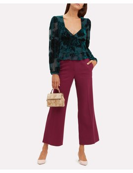 Maxine Velvet Top by Intermix